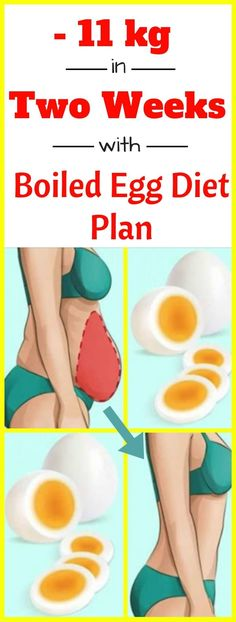 Lose 11 kg In Two Weeks With This Boiled Egg Diet Plan! #11kg #2weeks #boiledeggdiet #dietplan