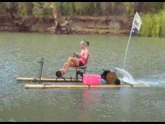 PVC Pipe Boat | pedal boat 01:56 Mins | Visto 29303 veces - Agregado hace 4 meses