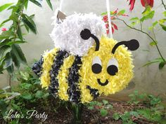 Honey Bee Pinata Bee Theme Party Decoration and Game Piñata on Etsy, $57.00