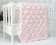 Crochet Baby Blanket Pattern, Baby Crochet Pattern Viola DIY Baby Blanket, Instant Pattern P noDF Baby Afghan Patterns, Pattern Baby, Baby Afghans, Crochet Blanket Patterns, Baby Blanket Crochet, Crochet Baby, Diy Crochet, Crotchet, Blankets For Sale