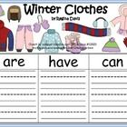 $-Here are 3 graphic organizers to use when writing about winter clothes during the winter months.  I like to use this in January.I gave you the op...