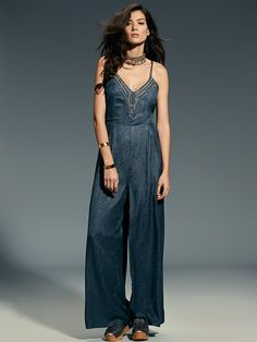 Free People Date Night Romper at Free People Clothing Boutique