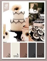 Cream grey black blush