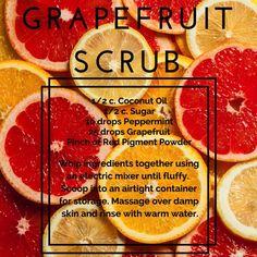 Grapefruit Scrub Recipe