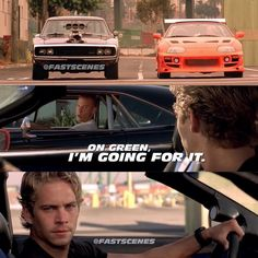 Dominic Toretto & Brian O'Conner (Vin Diesel & Paul Walker)