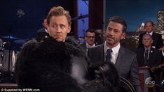 Oh dear: 'Well your staff, they said Leonardo DeCaprio came on the show and he dressed as ...