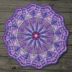 Crochet Overlay Mandala No. 6 Pattern PDF by CAROcreated on Etsy