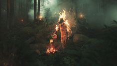 motion Got Costumes, Man On Fire, Fire Works, Fun Projects, Worlds Largest, Fighter Jets, Behance, Photoshop, Concert