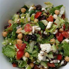 Mediterranean Chopped Salad, sounds yummy & healthy