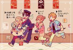 the gang // Jiboku Hanako-kun