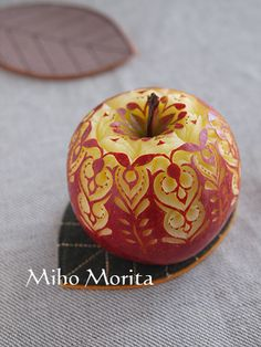 apple carving - Google Search