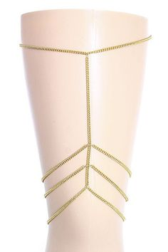 Chevron Thigh Chain – GiGi's Shoe Party Sales