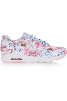 quality design 9d6d1 be74a Nike   Air Max 1 Ultra floral-print leather sneakers   NET-A-