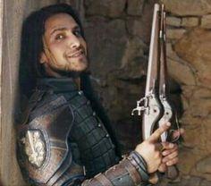 D'Artagnan ( Luke Pasqualino). The Musketeers. Season 3