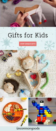 Cross off the little ones on your list this holiday season at UncommonGoods. The Legacy List 2019 Craft Gifts, Gifts For Kids, Cool Gifts, Unique Gifts, Diy Décoration, Kids Christmas, Christmas Games, Holiday Crafts, Little Ones