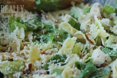 Chicken & Bowtie Caesar Salad - is this REALLY my life? | is this REALLY my life?
