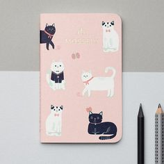 This pocket notebook: | 18 Adorable Stationery Items You Need If You're Obsessed With Cats