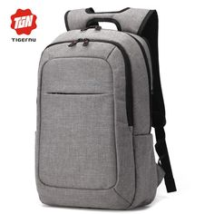 2017 Tigernu Men′s Backpacks Anti-thief Mochila for Laptop Inch Notebook Computer Bags Men Backpack School Rucksack Laptop Rucksack, Computer Backpack, Computer Bags, Laptop Bags, Mochila Nike, Men's Backpacks, College Backpacks, Casual Backpacks, Bags Travel