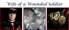 """""""My husband was severely injured by an improvised explosive device (IED) July 28th, 2006 and spent 20 months rehabilitating at Walter Reed Army Medical Center.""""""""I am a wife of a severely injured soldier"""""""