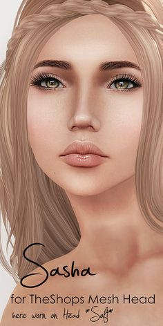New Face for TheShops Mesh Head *Sasha* | Flickr - Photo Sharing!