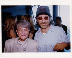 Eadie and Steven Spielberg
