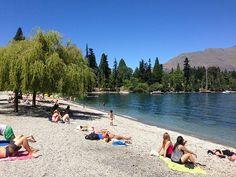 Lovely #Queenstown, #NewZealand summer day