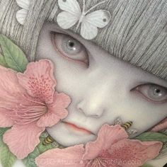 BEAUTIFUL new work by #beautifulbizarre Issue 8 featured artist, GOTO Atsuko! xo For info on stockists or to order a copy of #beautifulbizarre, plus a TON of other AMAZING stuff, check out the link below: www.beautifulbizarre.net/shop