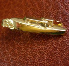 Men's Boat Tie Clip Vintage Cabin Cruiser Novelty Gilligans Island Yacht…