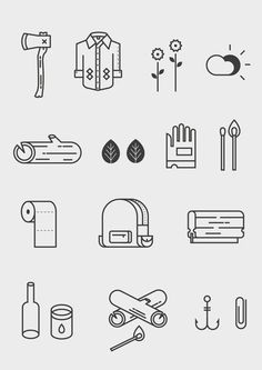 The Great Outdoors on Behance: