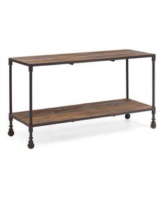 Take a look at this Distressed Natural Mission Bay Shelf by Zuo Modern on #zulily today!