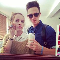 Shane Harper and Bridgit Mendler.