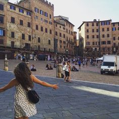 """Roxanne @ Glassofglam  on Instagram: """"#tbt to warm weather and mystical medieval views. #beautifil #siena #italy #italia #tuscany #medieval #look #go"""""""