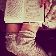 Cosy socks, good book…yes please! #LovedByMollie