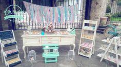 #shabbychic #dessertbar #ohlala #jaulas #mesadepostres #lavidaesunhermososueño