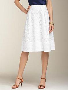 Talbots - Dixie Lace Full Skirt | Skirts | Apparel