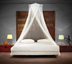 Timbuktoo Mosquito Nets Luxury Mosquito NET - for Single to King Size Beds Quick and Easy Installation System - Unique Internal Loop - 2 Entries - Ripstop Stuff Sack - No Added Chemicals. Tent Over Bed, Camas King Size, Mosquito Net Canopy, Bed Net, Single Size Bed, Cama King, Diy Canopy, Bed Canopies, Beach Cottages