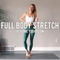 Likes, 36 Comments - Mary Ochsner Full Body Stretching Routine, Stretch Routine, Yoga Routine, Full Body Yoga Workout, Fitness Workouts, Fitness Workout For Women, Yoga Fitness, Gym Workout For Beginners, Yoga Poses For Beginners