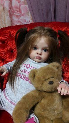 Кукла реборн Тутти, Tutti от Natali Blick Reborn Toddler Dolls, Reborn Dolls, Reborn Babies, Lifelike Dolls, Realistic Dolls, Victorian Dollhouse, Modern Dollhouse, Miniature Dolls, Miniature Houses