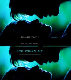 Tell her I was born the night she found me, and because of her, I went to my true death knowing what it means to love. Tell her thank you.  (via e-northman) #eric #sookie #trueblood