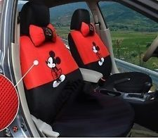 Disney Winnie The Pooh Car Seat Cover For Front Polyester BELLE MAISON JAPAN NEW