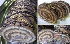 Recept Bohatá dobošová roláda Food And Drink, Meat, Boho, Desserts, Cakes, Mascarpone, Tailgate Desserts, Deserts, Cake Makers