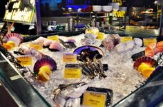 Fresh Seafood on Display @ Medz Singapore