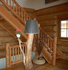Designer Stehlampe  Holz von Schappis-Holzkreationen auf DaWanda.com