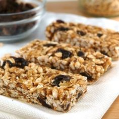Girl Power Granola Bars (use gluten free oats) (for healthy hair, skin, and nails)
