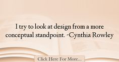Cynthia Rowley Quotes About Design - 14713