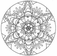 11 mandalas para colorear budistas (1)