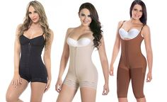 Colombian Compression Garment After tummy tuck,Post surgery girdle 4370 beige