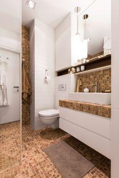 Privatus gyvenamasis  Nr. 12  2015 - interjeras.lt batroom white and beige brown tiles