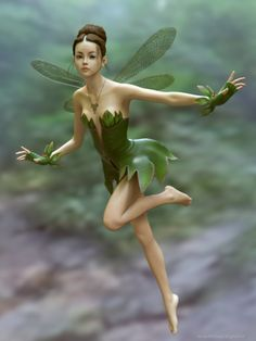 Little Miss Fairy by JavierMicheal.deviantart.com on @DeviantArt