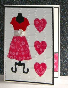 Dress Up Valentine 1 by Broom - Cards and Paper Crafts at Splitcoaststampers